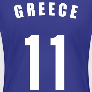 Königsblau GREECE Griechenland Ελλάδα Ελλάς Ποδόσφαιρο football Fußball Länder countries Sports - eushirt.com T-Shirts - Frauen Premium T-Shirt