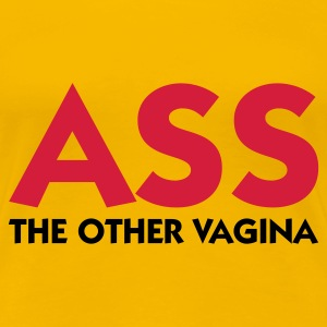Hellrosa Ass The Other Vagina (2c) T-Shirts - Frauen Premium T-Shirt