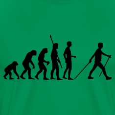 evolution_nordic_walking T-Shirts