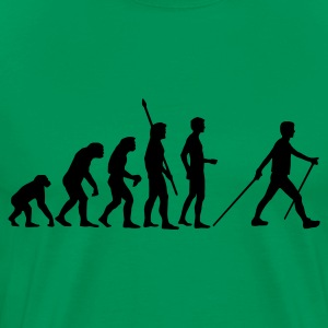 evolution_nordic_walking T-Shirts - Men's Premium T-Shirt
