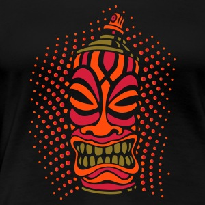 SPRAY A TIKI pt.2 (c3neg) UK - Women's Premium T-Shirt