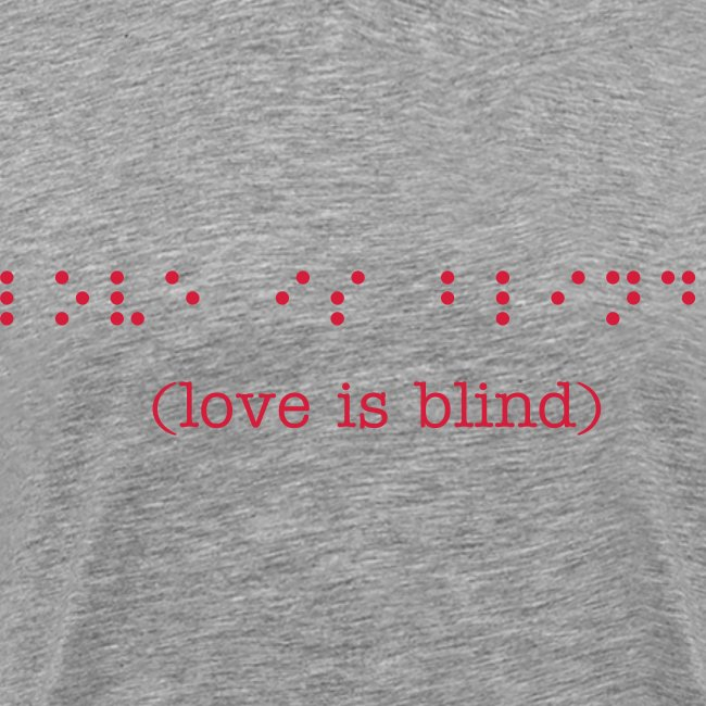 (braille) love is blind
