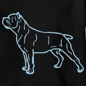 Zwart canecorso_stand_04 Kinder shirts - Teenager T-shirt