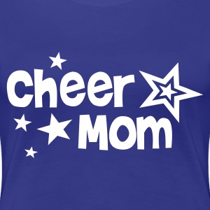 cheer mom - Frauen Premium T-Shirt