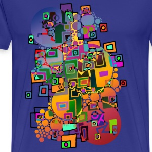 DANCING IN THE CITY | unisex Shirt - Männer Premium T-Shirt