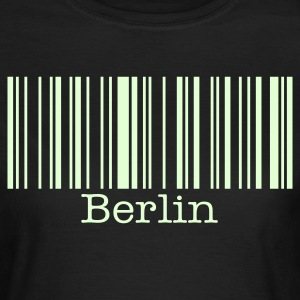 Berlin Bar code T-Shirt Glow in the Dark - Women's T-Shirt