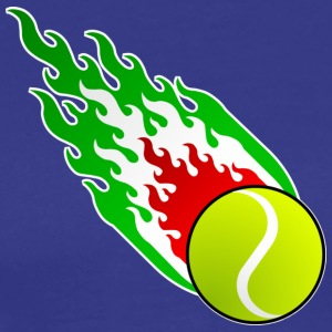 Fireball Tennis Italy - Men's Premium T-Shirt