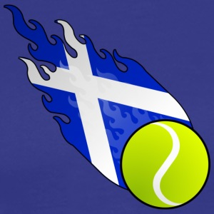 Fireball Tennis Scotland - Men's Premium T-Shirt
