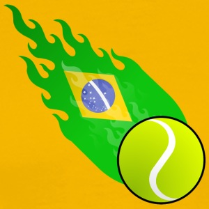 Fireball Tennis Brasil - Men's Premium T-Shirt