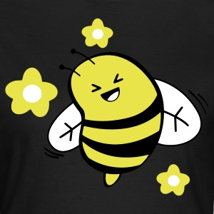 Chocolate funny bee T-Shirts - Frauen T-Shirt