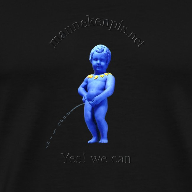 YES WE CAN mannekenpis |♀♂