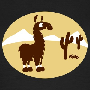 Noble brown Lama at Atacama (3c) Women's T-Shirts - Women's T-Shirt