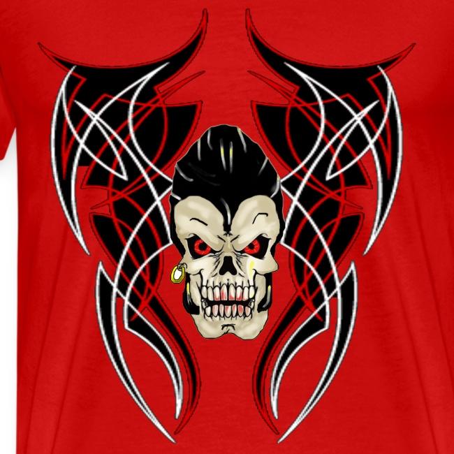 Skull Greaser Wings pinstrip