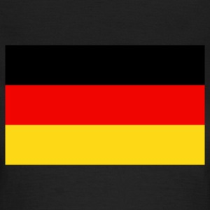 Chocolate Flag Germany 2 (3c) Camisetas - Camiseta mujer