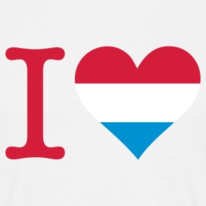 Zandbeige I Love Holland Original (3c) T-shirts - Mannen T-shirt