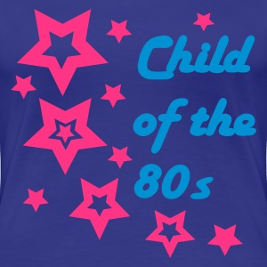 Aqua Child of the 80s Women's T-Shirts - Women's Premium T-Shirt