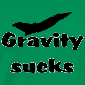 Gravity sucks - Männer Premium T-Shirt