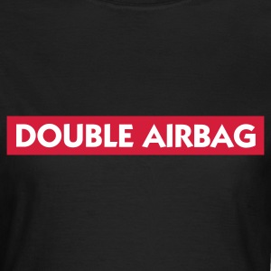 Chocolat Double Airbag (2c) T-shirts - T-shirt Femme