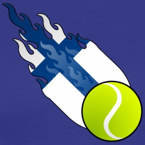 Fireball Tennis Finland - Men's Premium T-Shirt