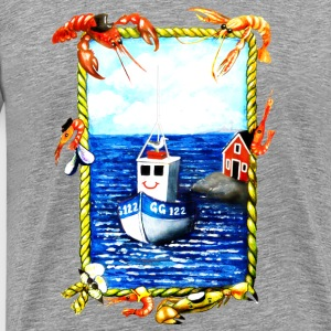 seaside - Premium-T-shirt herr