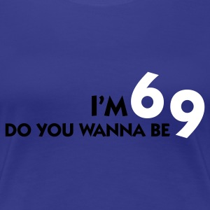 Aqua I'm 6 - Wanna be 9? (2c) Women's T-Shirts - Women's Premium T-Shirt