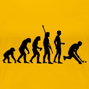 evolution_herren_hockey_1c T-skjorter - Premium T-skjorte for kvinner