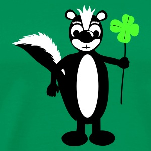 Forest green Skunk Men's T-Shirts - Men's Premium T-Shirt