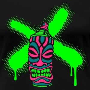 SPRAY A CROSS TIKI (N1 UK) - Women's Premium T-Shirt