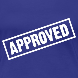 Türkis Approved (1c) T-Shirts - Frauen Premium T-Shirt