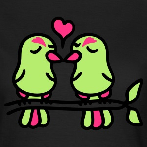Chocolate birds in love 3 T-Shirts - Frauen T-Shirt