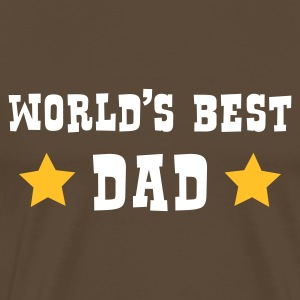 World's Best Dad - Camiseta premium hombre