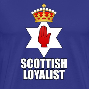 Royal blue scottish Men's T-Shirts - Men's Premium T-Shirt