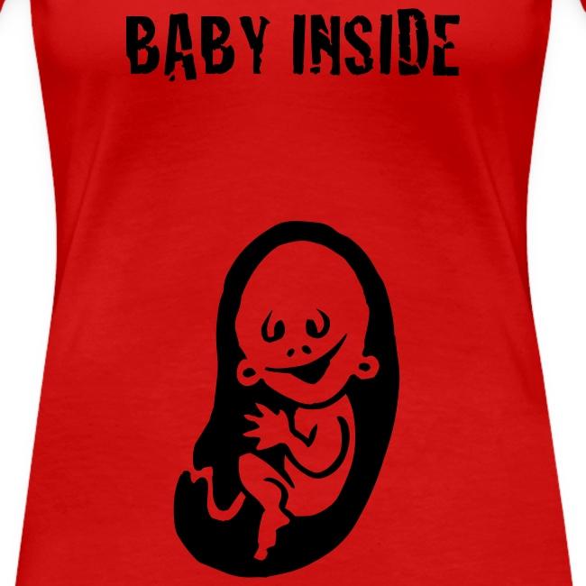 baby inside shirt