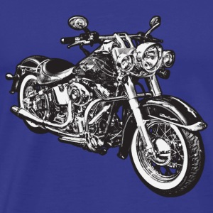 Sky chopper hog bike motorrad Men's T-Shirts - Men's Premium T-Shirt