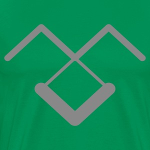 Kelly green cool_design_5 Men's T-Shirts - Men's Premium T-Shirt