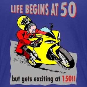 Life begins at 50 T-Shirts - Women's Premium T-Shirt