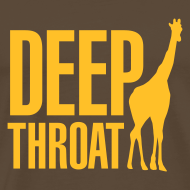 Ontwerp ~ T-shirt Deep throat giraffe