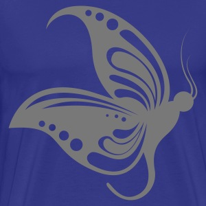 Sky butterfly1 1 color Men's T-Shirts - Koszulka męska Premium