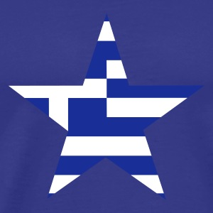 Himmelsblå greece_star T-shirts - Men's Premium T-Shirt