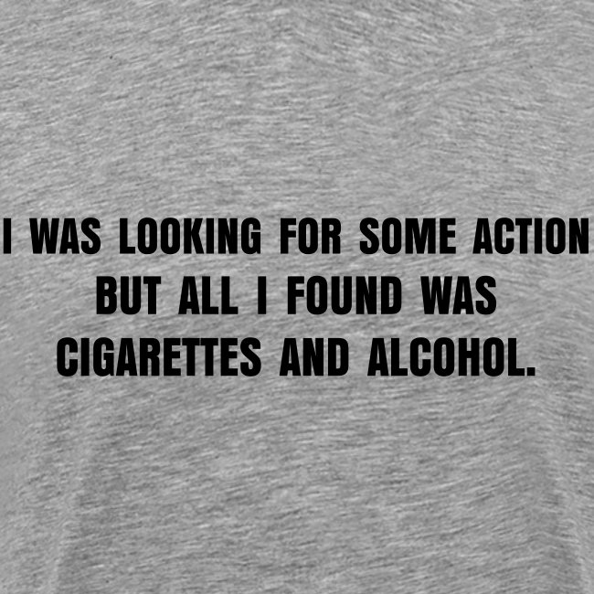 Cigarettes & alcohol