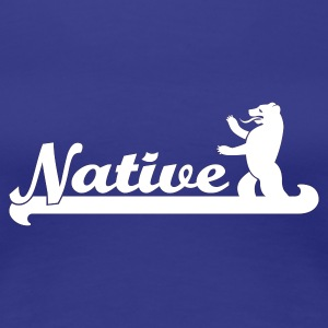 Native Berliner Girlie - Frauen Premium T-Shirt