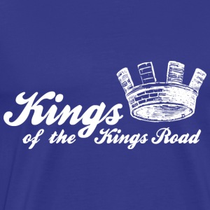 Royal blue Kings of the Kings Road Men's T-Shirts - Men's Premium T-Shirt