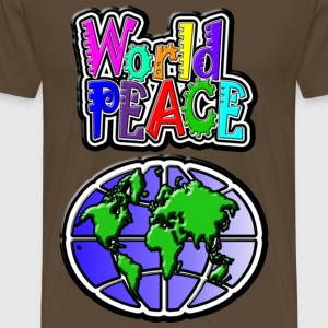 World Peace - Men's Premium T-Shirt