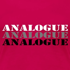 Pink analogue_t_11 Women's T-Shirts - Women's Premium T-Shirt