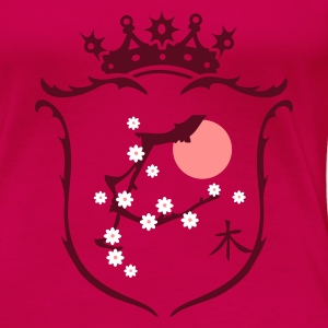 Pink Coat of arms Women's T-Shirts - Women's Premium T-Shirt