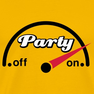 Gelb Party Cockpit T-Shirts - Männer Premium T-Shirt