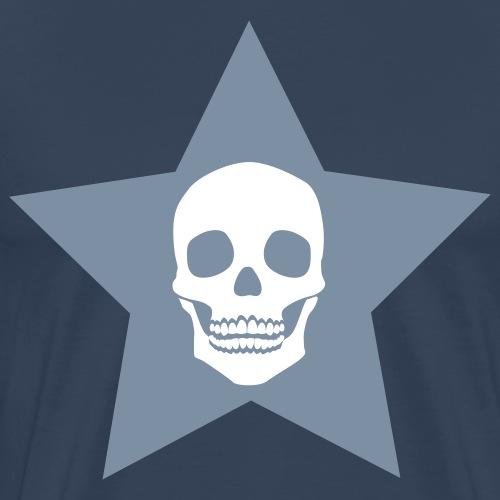 Totenkopf + Stern gross / Skull + star