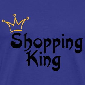 SHOPPING KING | Unisex Shirt - Männer Premium T-Shirt