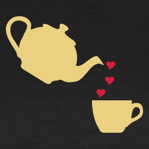 ädelbrun Cup of Love T-shirts - T-shirt dam