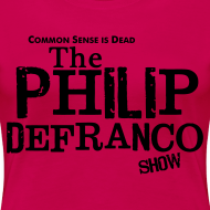 Design ~ Philip DeFranco Show Shirt (Female) w/ black text